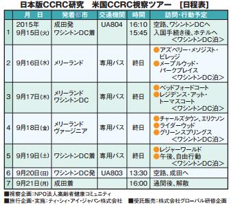 終の住処 「日本版CCRC/高齢者健康コミ ュ ニティ」 研究のためにの画像